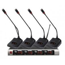 Беспроводная конференционая микрофонная система SF-W740