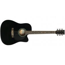 Акустическая гитара Caraya F-601 BK