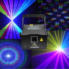 Анимационный лазер U1000 RGB