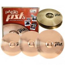 Комплект тарелок Paiste 5 Rock Set Crash 18